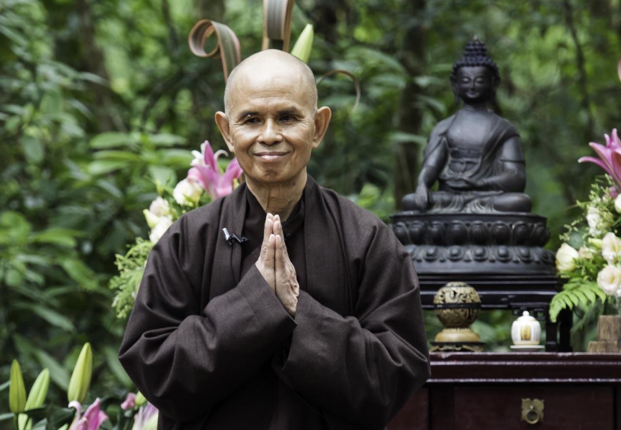 ENGELmagazin-Autor und Zen-Meister Thich Nhat Hanh